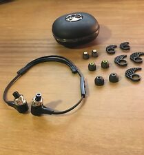 Jaybird Bluebuds X headphones (black) with travel case and accessory pack