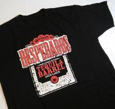 Desperados Tequila Flavored Beer Black TShirt Men Large Short Sleeve *2K