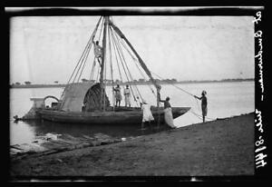 Native craft along shores of White Nile,Omdurman,Sudan,Africa,Matson Photo 2127