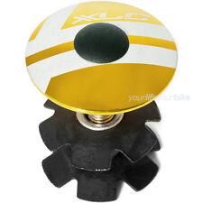 """XLC A-Head Plug 1 1/8"""" oro # abdeck tapa Top cap gabelkralle tipo impositivo garra"""