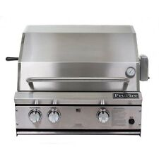PROFIRE 27 INCH BUILT IN GRILL  PF27R - With Rear Burner and Rotisserie