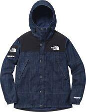 SUPREME x The North Face Denim Dot Shot Jacket Indigo M box logo camp cap S/S 1