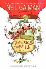 Fortunately, the Milk by Neil Gaiman young readers hardcover book FREE SHIPPING