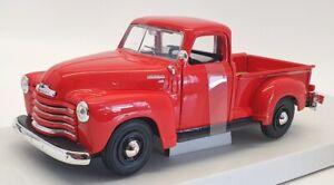 Maisto 1/25 Scale Diecast 31952 - 1950 Chevrolet 3100 Pickup - Red