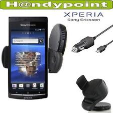 Kfz Halterung Sony Ericsson Xperia active Arc S Auto Halter 360 Grad + Ladekabel