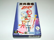 Zero Far East of Eden par Hudson Soft pour super famicom/SNES avec carte! (no manual)
