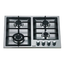 60cm Gas Cooktop 4 Burners Built In for Kitchen
