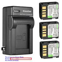 Kastar Battery Wall Charger for JVC BN-VF707 & JVC GR-D270TW GR-D270U GR-D270US