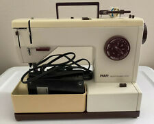 Vintage Pfaff 1209 Synchromatic Sewing Machine with Cover + AW0253 Foot Pedal
