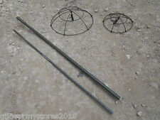 British Army Camouflage Camo Netting Support Poles Baskets Vehicle Land Rover