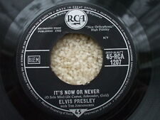 Elvis Presley - It's Now Or Never / make Me Know It - RCA 1207 - Jukebox ready
