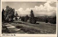 Jodbad Sulzbrunn im bayerischen Allgäu bei Kempten s/w Postkarte 1951 gelaufen