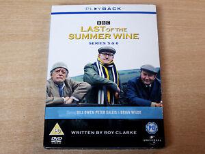 Last Of The Summer Wine/Series 5 & 6/2008 3x DVD Set