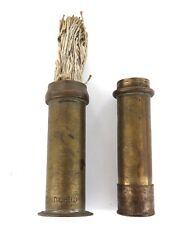 .RARE ANTIQUE WELCH DUNLOP TYPE PUMP CONVERTED TO WICK HOLDER, VERY UNUSUAL