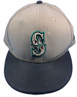 Seattle Mariners MLB New Era Size 7 5/8 Fitted Hat
