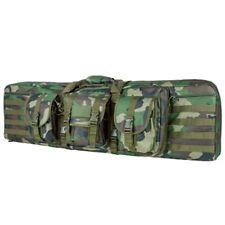 "NcStar VISM Tactical 42"" Woodland Camo Padded Double Carbine Rifle Gun Case Bag"