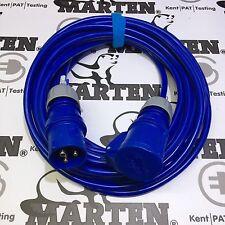 Marten® 240V 16a Site Extension Lead 10m Arctic 2.5mm Cable