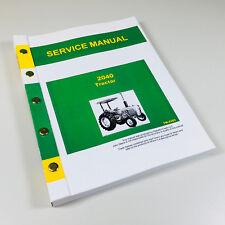 Service Manual For John Deere 2040 Tractor Repair Technical Shop Book Overhaul