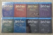 HARRY POTTER Complete EMBOSSED Steelbook Blu-ray Collection Import *READ MINOR*