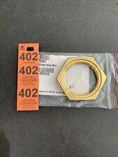 New Listing2 12 Brass Hex Nut Part No 1981