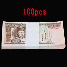 a bundle 100pcs Mongolia 50 Tugrik Banknotes brand new Collections Uncirculated