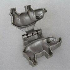petits moule cochon à chocolat en aluminium