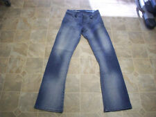 AZZURE LOVE LIFE DENIM Bootcut 2 Pocket Stretch Cotton Jeans 28X33L Women #3732