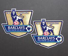 14/15 Barclays Premier League Campeones/2 X brazo Parche = tamaño de la réplica