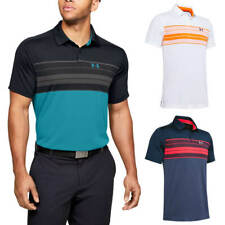 Under Armour Mens 2020 Vanish Chest Stripe Wicking Golf Polo Shirt 45% OFF RRP