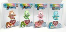 Worlds Smallest Care Bears Series 2 Plush: Luck, Love-A-Lot, Tender Heart, Wish