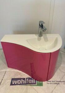 Burgbad Waschtisch Sinea 2.0 mit Unterschrank Pink, Art.Nr. WVHS066