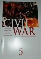 Civil war 5 NM Marvel comics 2006 2016 Movie Avengers