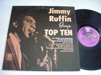 Jimmy Ruffin Sings Top Ten 1966 Mono LP