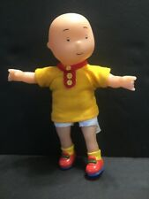 "CAILLOU Toy Boy Doll PBS 7"" Yellow Shirt Vinyl & Plush Issues"