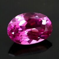 4.20 Cts Top Luster Oval Cut VVS1 Madagascar Pink Sapphire Loose Gemstone