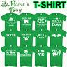 St Patricks Day T-shirt Paddys Day Shamrock Irish Leprechaun Unisex T-shirt Tops