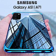COVER per Samsung Galaxy A51 / A71 CUSTODIA ELECTRO + PELLICOLA VETRO TEMPERATO