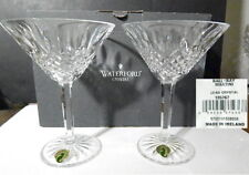 Waterford Crystal BALLYBAY MARTINI Glasses(2) Made in IRELAND - NEW in BOX