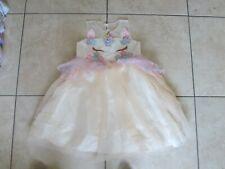 GIRLS DRESS AGE 6-7-8-9 Unicorn EASTER SKATER GIRL Disney Princess party sundre
