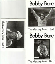 Bobby Bare - The Mercury Years, Parts 1-3 (CD Set)  Bear Family Records ‎NEW oop