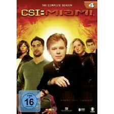 "CSI MIAMI ""SEASON 4"" 6 DVD SET TV SERIE NEU"