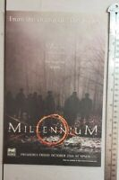 Millennium Tv Show RARE Print Advertisement