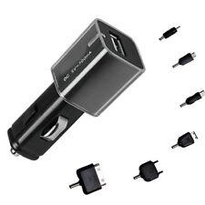 H23 KFZ Auto Ladegerät Netzteil USB Adapter Zigarettenanzünder 12V mit 6 Adapter