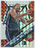2019-20 Panini Mosaic Luka Doncic Will To Win Silver PRIZM Parallel #13 Mavs