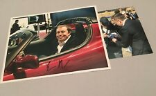 ELON MUSK Unternehmer 'Tesla / PayPal' signed In-person Foto 20x25 + Foto RAR