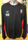LINCOLN CITY FC Training Football Soccer Fussball Fotboll Sweatshirt Pullover