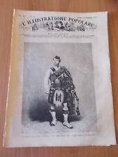 L'ILLUSTRAZIONE POPOLARE 39/1882 Piper Highlander, Grandi manovre, Vevey