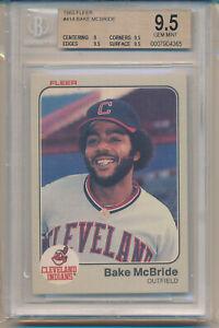 1983 Fleer Bake McBride (#414) BGS9.5 BGS