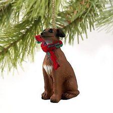 Italian Greyhound Miniature Dog Ornament