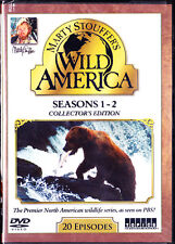 Wild America: Seasons 1&2 (DVD, 2016, 2-Disc Collectors Edition) Marty Stouffer
